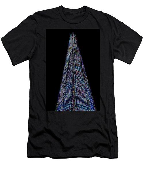 The Shard London Art Men's T-Shirt (Athletic Fit)