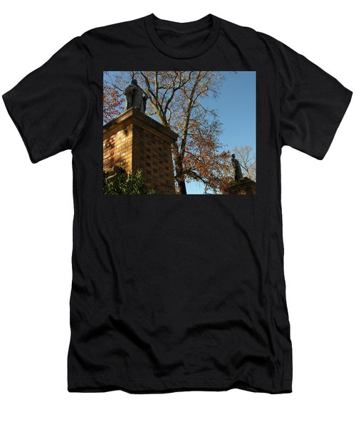 Men's T-Shirt (Slim Fit) featuring the photograph William And Mary College by Jacqueline M Lewis