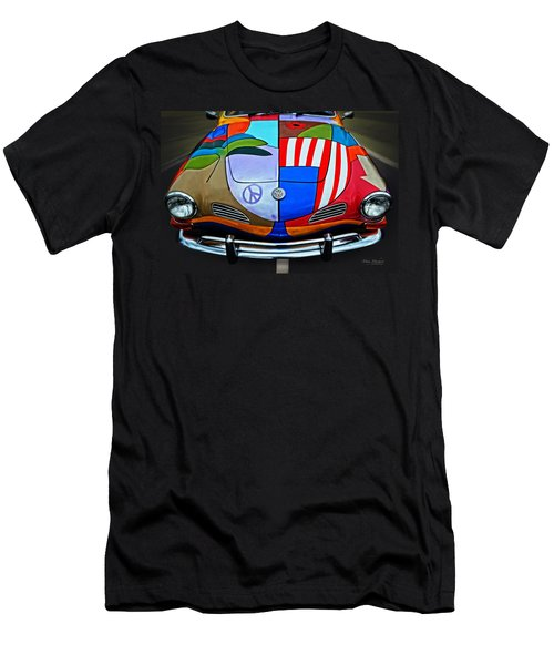 60s Wild Ride Men's T-Shirt (Athletic Fit)
