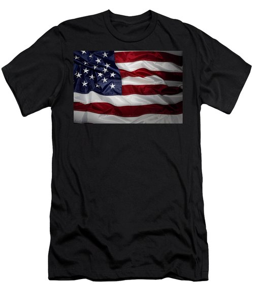 American Flag 52 Men's T-Shirt (Athletic Fit)