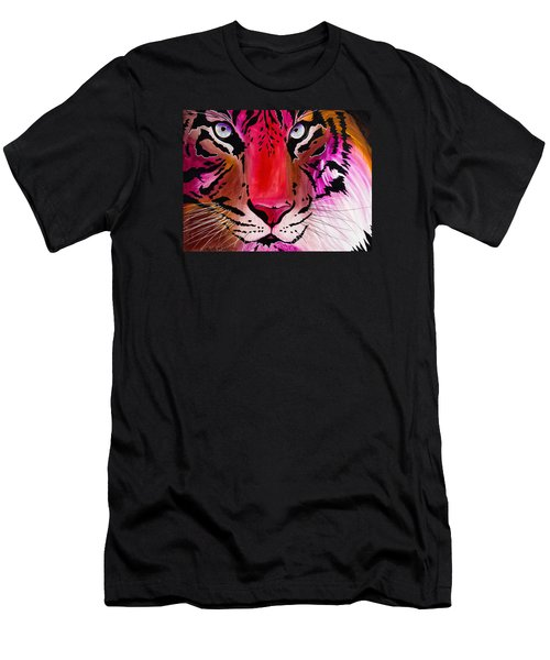 Men's T-Shirt (Athletic Fit) featuring the painting Beautiful Creature by Dede Koll