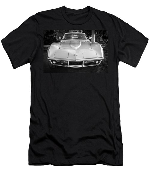 1969 Chevrolet Corvette 427 Bw Men's T-Shirt (Athletic Fit)