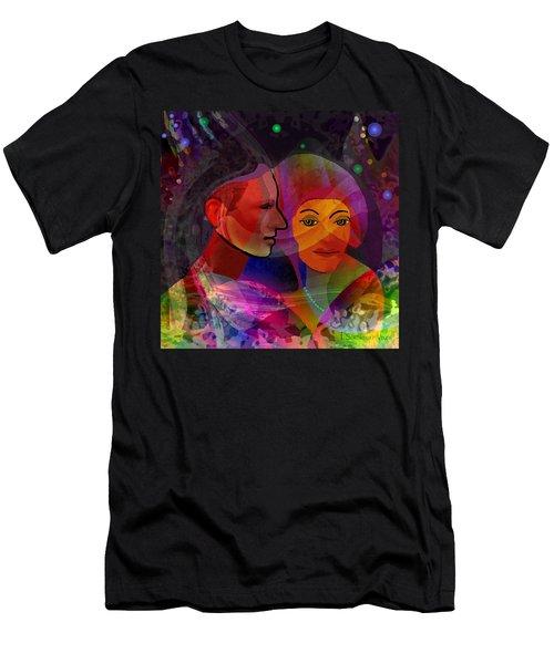 736 - Summer Night  Men's T-Shirt (Athletic Fit)