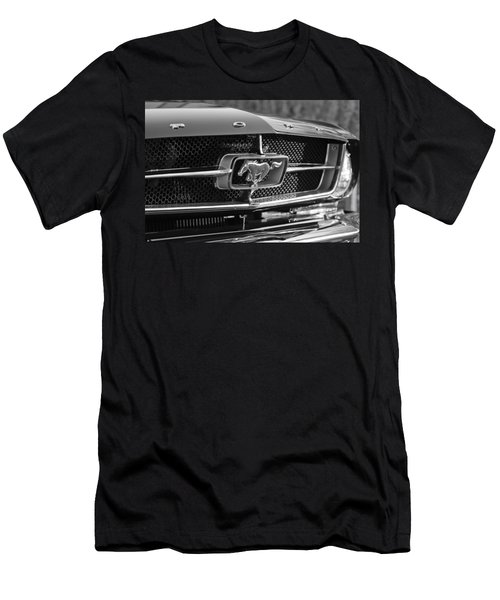 1965 Shelby Prototype Ford Mustang Grille Emblem Men's T-Shirt (Athletic Fit)
