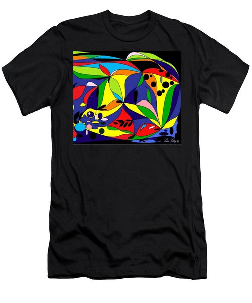Design By Loxi Sibley Men's T-Shirt (Slim Fit) by Loxi Sibley