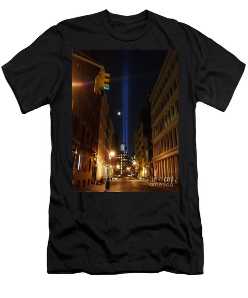 9-11-2013 Nyc Men's T-Shirt (Slim Fit) by Jean luc Comperat