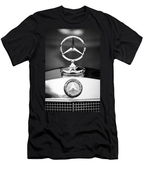 Mercedes-benz Hood Ornament Men's T-Shirt (Athletic Fit)