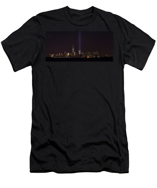 9.11.2014 Men's T-Shirt (Slim Fit) by Kenneth Cole
