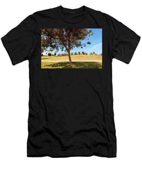 Men's T-Shirt (Slim Fit) featuring the photograph 96 Degrees In Da Shade by Amar Sheow