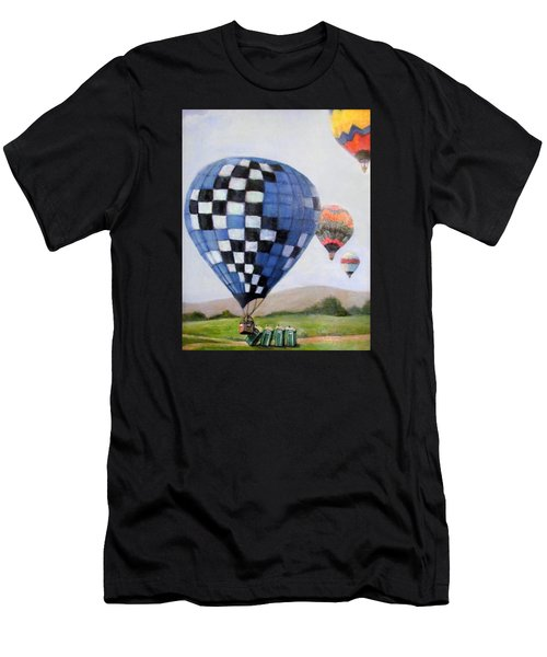 A Balloon Disaster Men's T-Shirt (Athletic Fit)