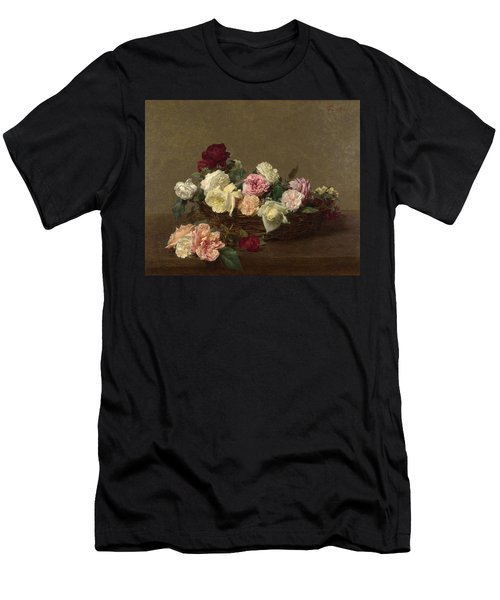 A Basket Of Roses Men's T-Shirt (Athletic Fit)