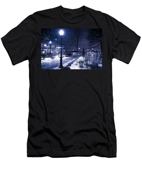 A Battery Park Winter Men's T-Shirt (Athletic Fit)
