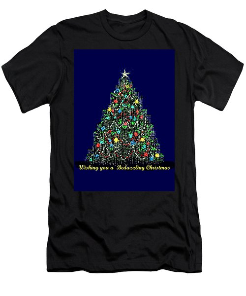 A Bedazzling Christmas Men's T-Shirt (Athletic Fit)