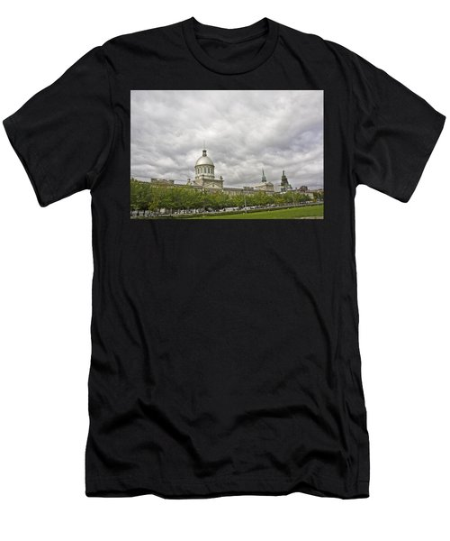 A Bonsecours Day  Men's T-Shirt (Athletic Fit)