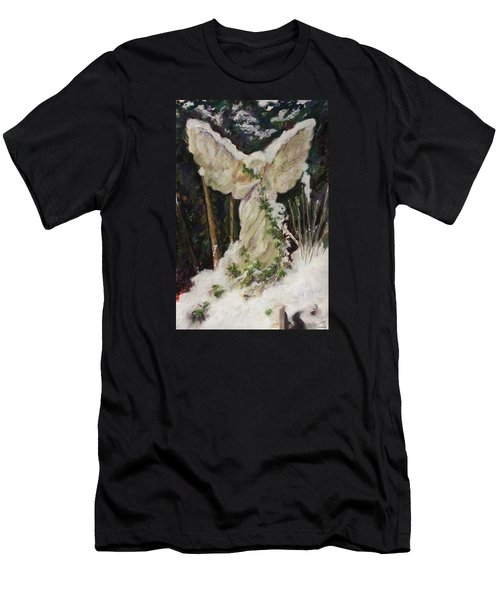 A Breath Of Snow And Ivy,  Highgate Cemetery Men's T-Shirt (Athletic Fit)