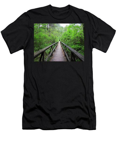 A Bridge To Somewhere Men's T-Shirt (Athletic Fit)