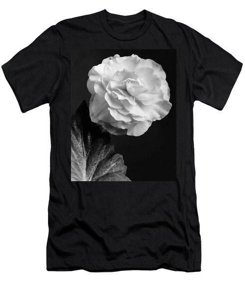 A Camellia Flower Men's T-Shirt (Athletic Fit)