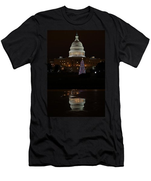 A Capitol Reflection Men's T-Shirt (Athletic Fit)