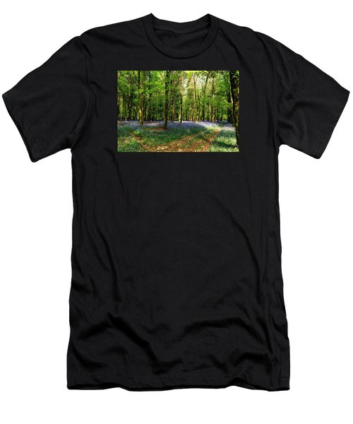 Men's T-Shirt (Slim Fit) featuring the photograph A Carpet Of Colour by Wendy Wilton