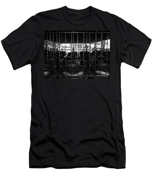 Men's T-Shirt (Slim Fit) featuring the photograph A Classic Car by Michael Krek