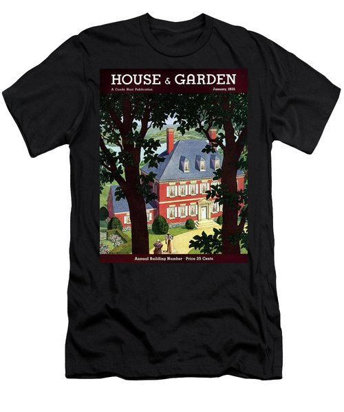 A Colonial Manor House Men's T-Shirt (Athletic Fit)