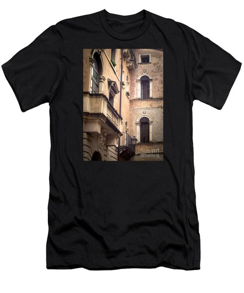 A Corner Of Vicenza Italy Men's T-Shirt (Athletic Fit)
