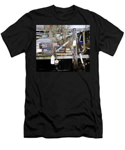 A Crab Fishermans Still Life Men's T-Shirt (Athletic Fit)