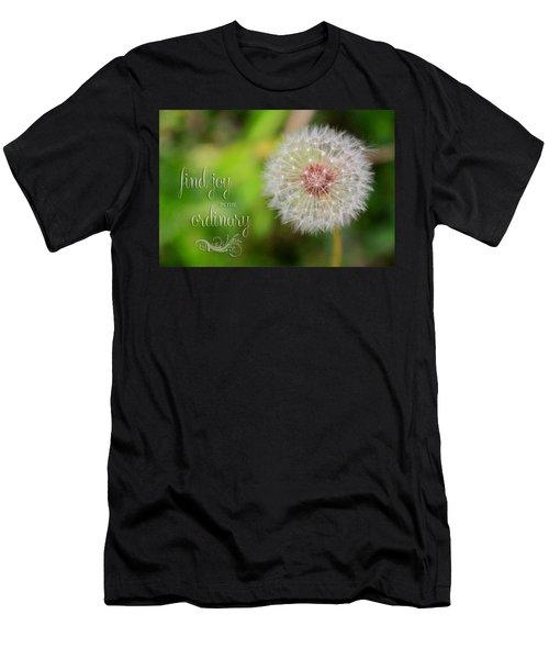 A Dandy Dandelion With Message Men's T-Shirt (Athletic Fit)