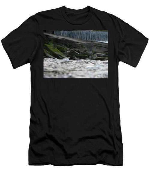 Men's T-Shirt (Slim Fit) featuring the photograph A Day At The River by Michael Krek