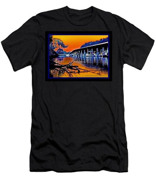 A Delta Sunset  Men's T-Shirt (Athletic Fit)