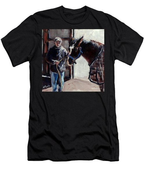 A Derby Day Of Sorts Men's T-Shirt (Slim Fit) by Molly Poole