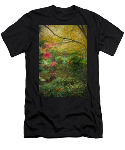 A Fall Afternoon With Message Men's T-Shirt (Athletic Fit)