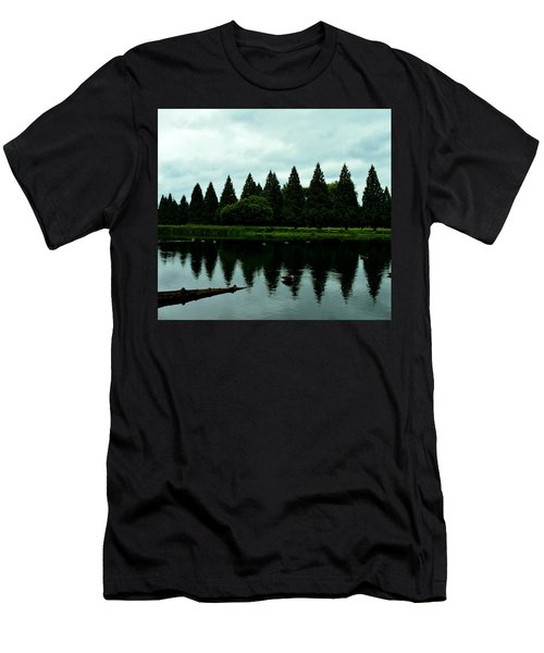 A Gaggle Of Pines Men's T-Shirt (Athletic Fit)