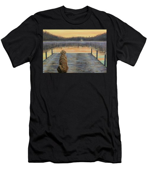 A Golden Moment Men's T-Shirt (Athletic Fit)