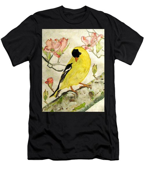 A Goldfinch Spring Men's T-Shirt (Athletic Fit)
