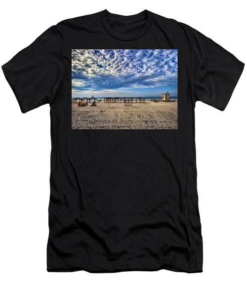 a good morning from Jerusalem beach  Men's T-Shirt (Athletic Fit)