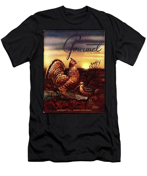 A Gourmet Cover Of A Turkey Men's T-Shirt (Athletic Fit)