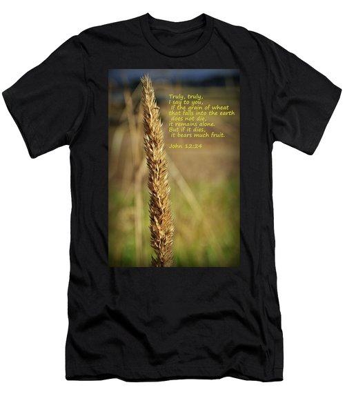 A Grain Of Wheat Men's T-Shirt (Athletic Fit)