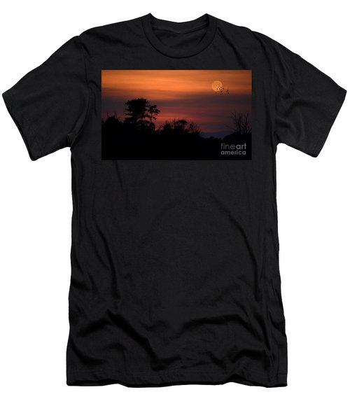 A Grand Strand Sunset Men's T-Shirt (Athletic Fit)