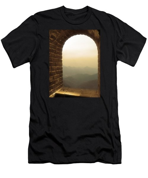 A Great View Of China Men's T-Shirt (Athletic Fit)