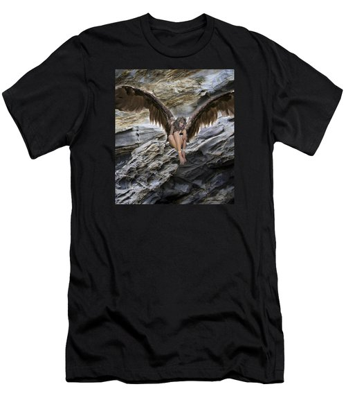 A Guardian Angel Men's T-Shirt (Athletic Fit)