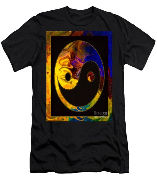 A Happy Balance Of Energies Abstract Healing Art Men's T-Shirt (Athletic Fit)