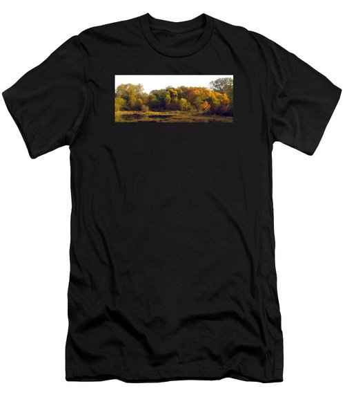 Men's T-Shirt (Slim Fit) featuring the photograph A Harvest Of Color by I'ina Van Lawick