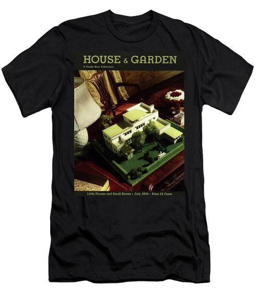 A House And Garden Cover Of A Model House Men's T-Shirt (Athletic Fit)