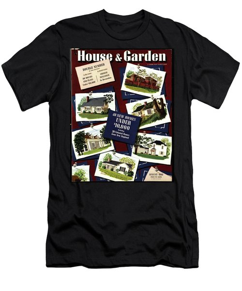 A House And Garden Cover Of Houses Men's T-Shirt (Athletic Fit)