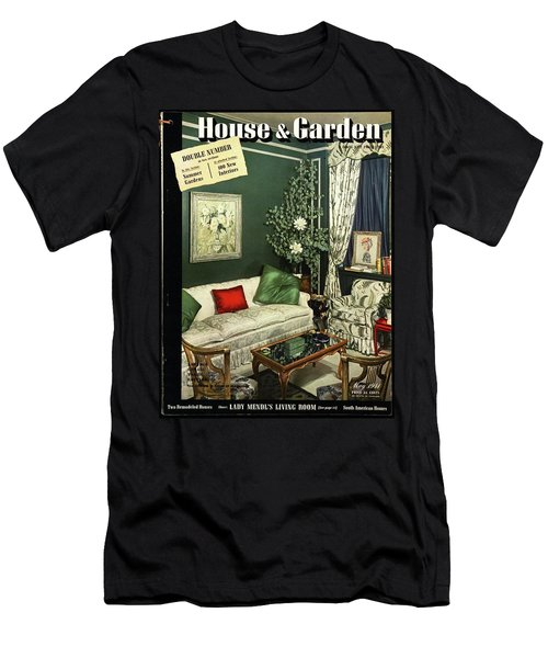 A House And Garden Cover Of Lady Mendl's Sitting Men's T-Shirt (Athletic Fit)