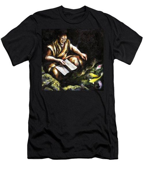 A Letter Men's T-Shirt (Athletic Fit)