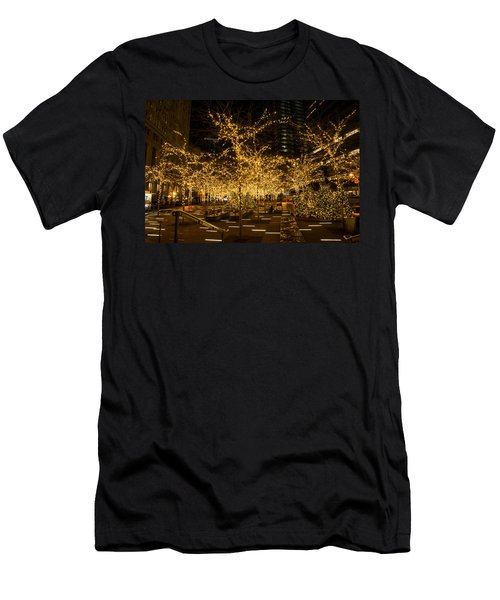 A Little Golden Garden In The Heart Of Manhattan New York City Men's T-Shirt (Athletic Fit)