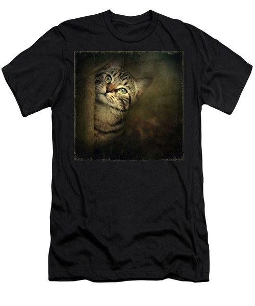 A Little Shy Men's T-Shirt (Athletic Fit)