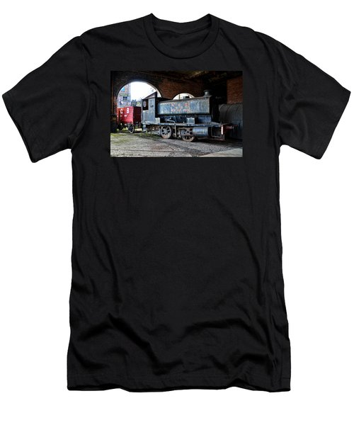 A Locomotive At The Colliery Men's T-Shirt (Athletic Fit)